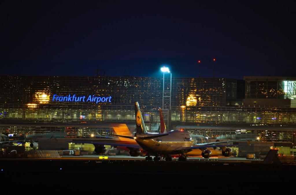 Abflug Frankfurter Flughafen